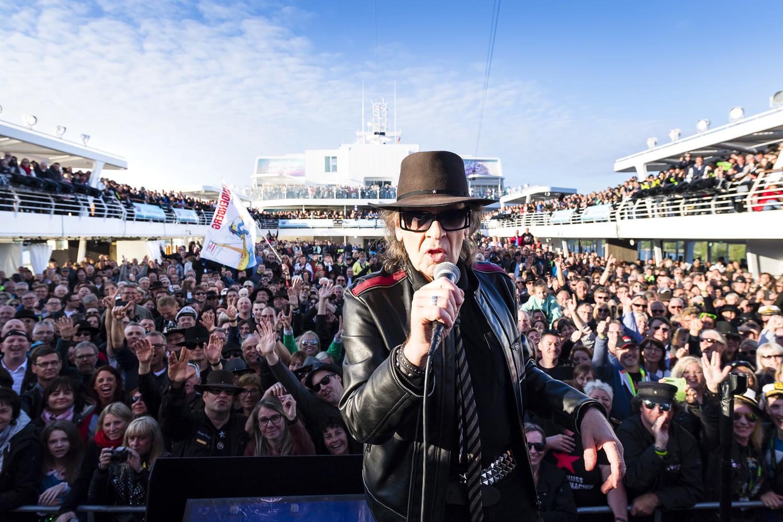 Rockliner VI von TUI Cruises: Fünf Tage, rund 3.000 Fans und eine deutsche Rocklegende