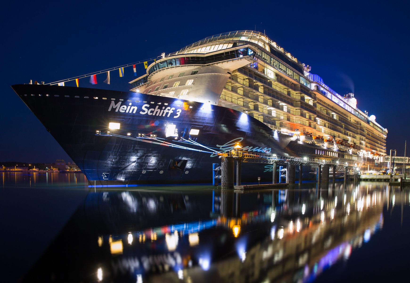 """Das neue """"Hausboot"""" der Kelly Family: Die Mein Schiff 3 von TUI Cruises"""