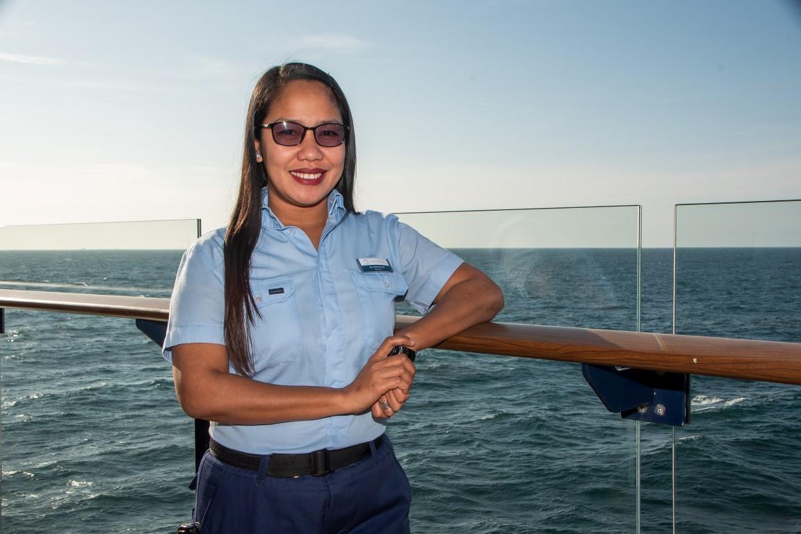 Mein Schiff Urlaubsheldin im Juli 2019: Jill Pontimayour