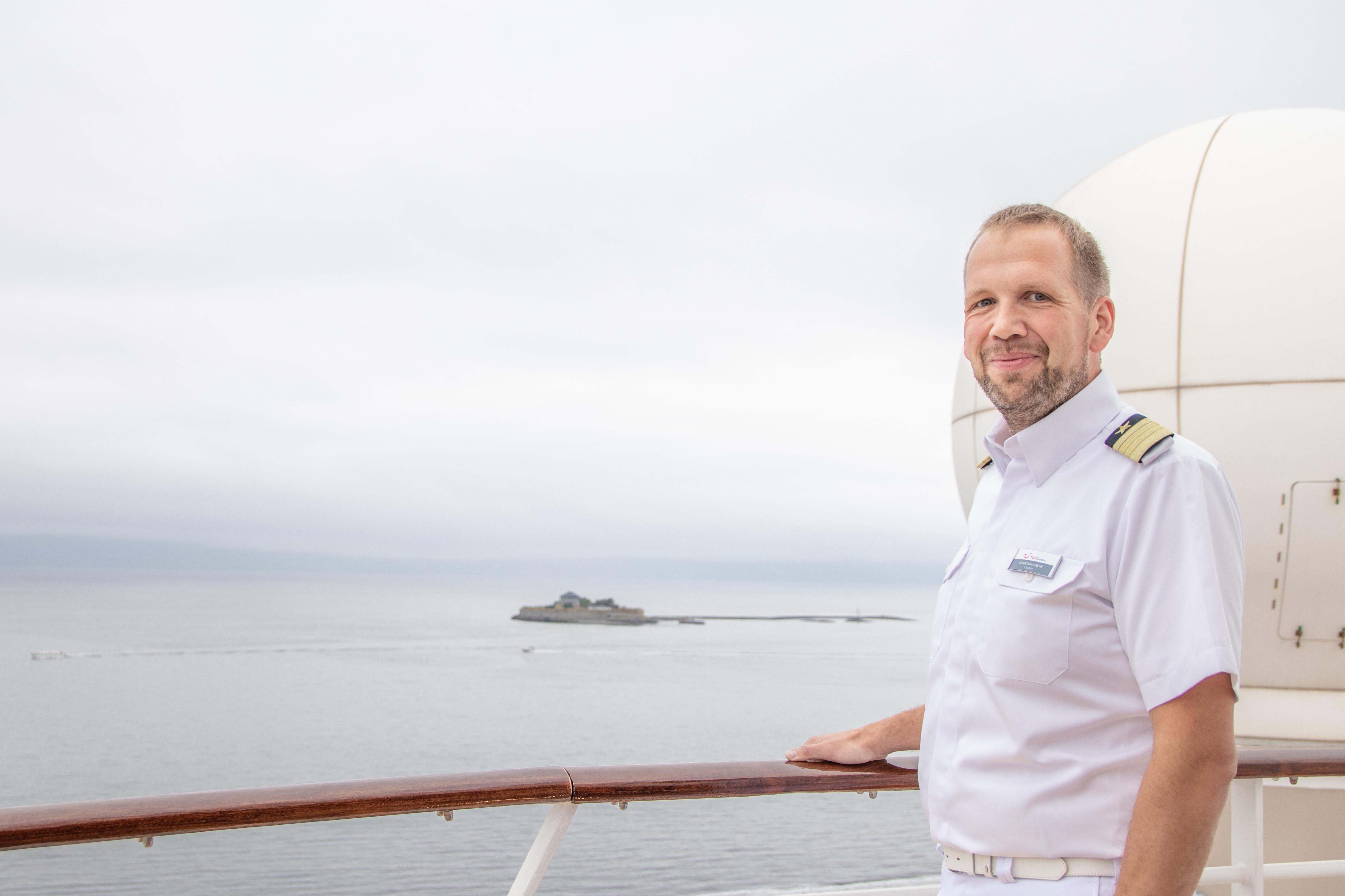 Im Porträt: Mein Schiff Kapitän Christian Lerche