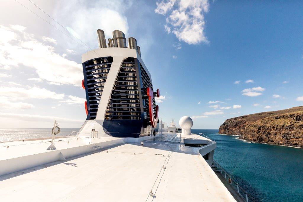 Abgasreinigung an Bord der Mein Schiff Flotte