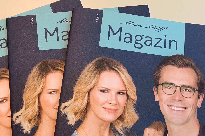 Mein Schiff Magazin 1/2020 jetzt kostenlos im Online-Shop erhältlich