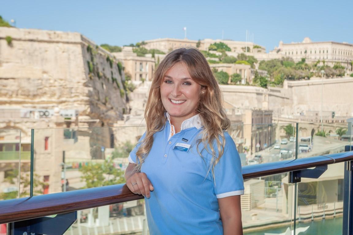 Mein Schiff Urlaubsheldin im August 2019: Anja Silvia Kaiser