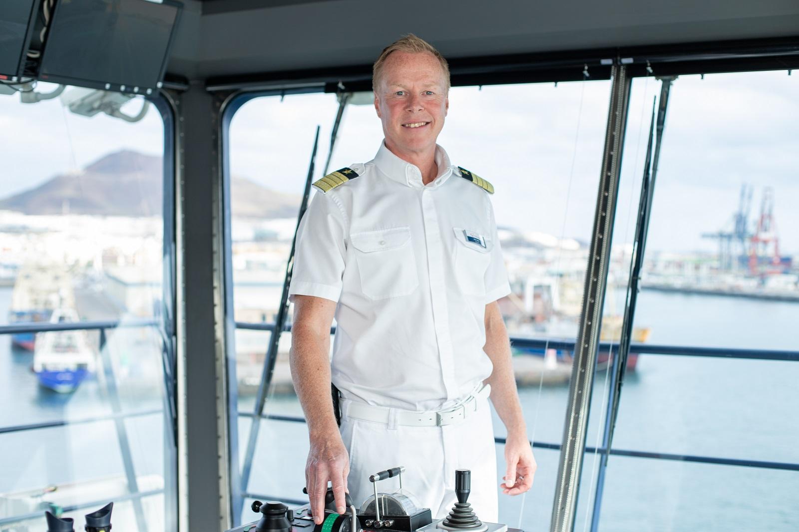 Im Porträt: Mein Schiff Kapitän Per Hard