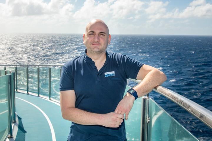 Mein Schiff Urlaubsheld des Monats: Michael Louis