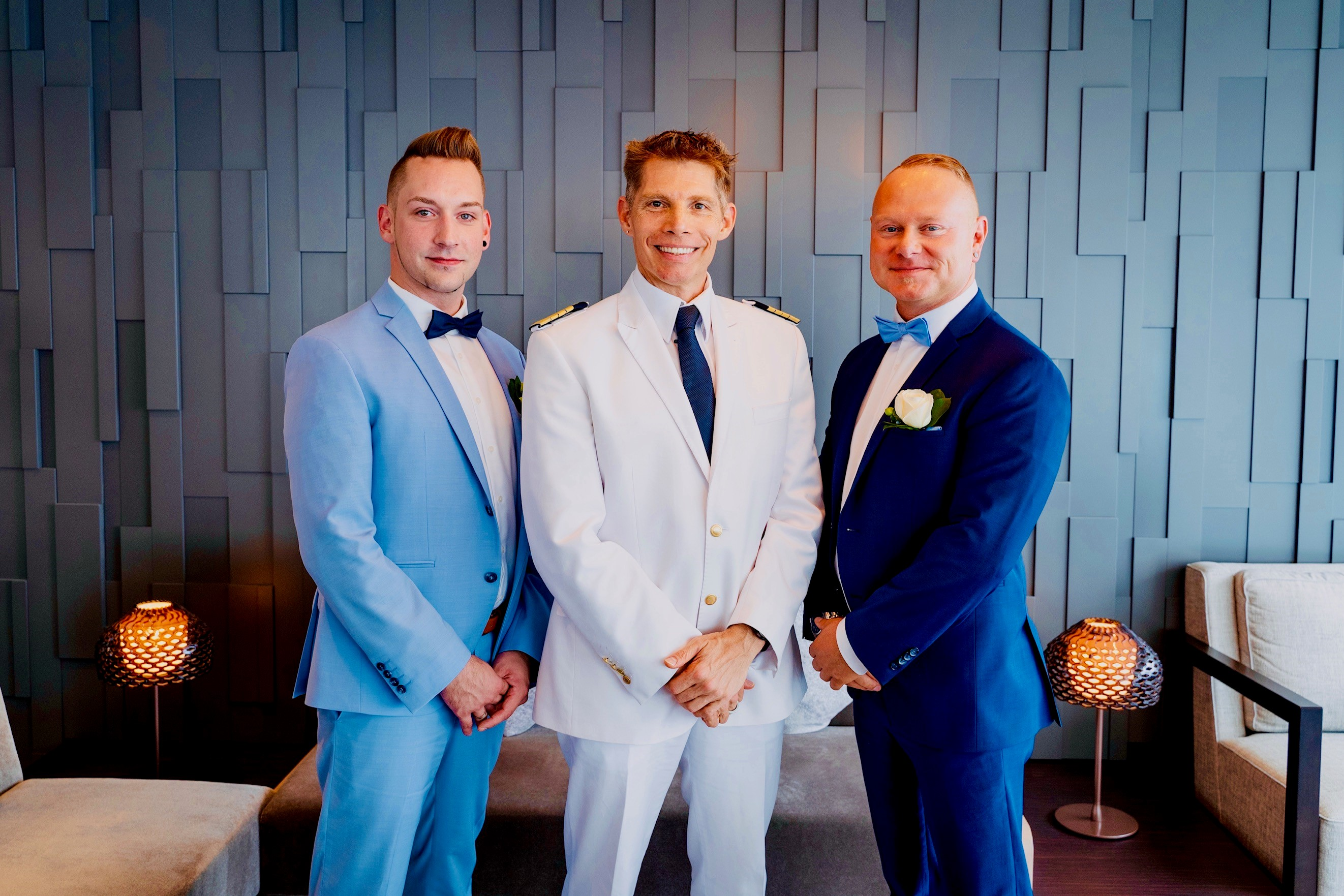 Verliebt, verlobt, (auf hoher See) verheiratet: So läuft eine Hochzeit an Bord der Mein Schiff ab.