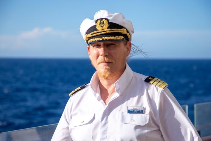 Im Porträt: Mein Schiff Kapitän Hilko Tjard Mahler