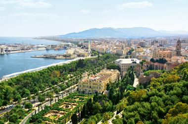 Mallorca bis Málaga
