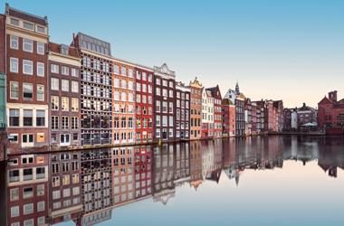 Westeuropa mit Amsterdam