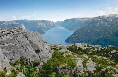 Norwegen mit Geirangerfjord I