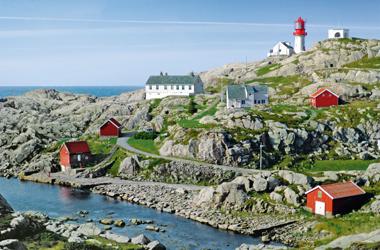 Norwegen mit Geirangerfjord IV