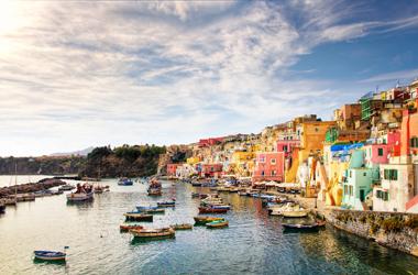 Mittelmeer mit Italien und Griechenland II