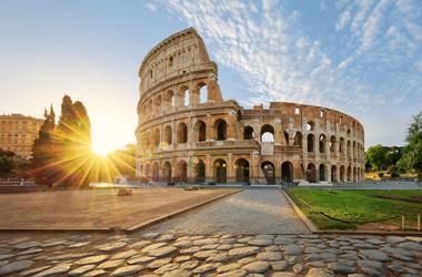 Mittelmeer mit Italien und Griechenland I