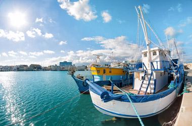 Griechenland mit Zypern und Sizilien