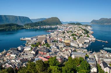 Norwegen mit Kristiansand
